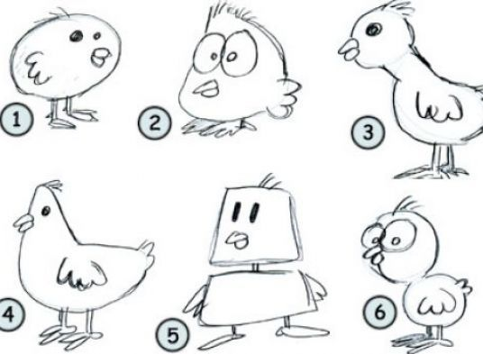 Funny Chicken Cartoons: Easy Graffiti Animals - Google Zoeken