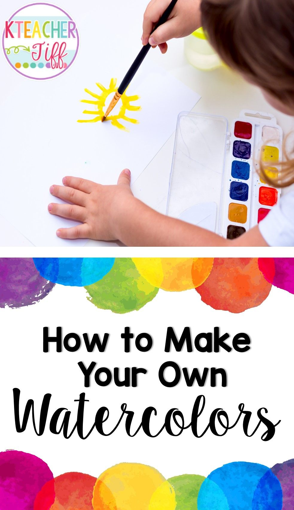 Diy Liquid Watercolors Diy Gifts For Kids Fun Crafts To Do Fun