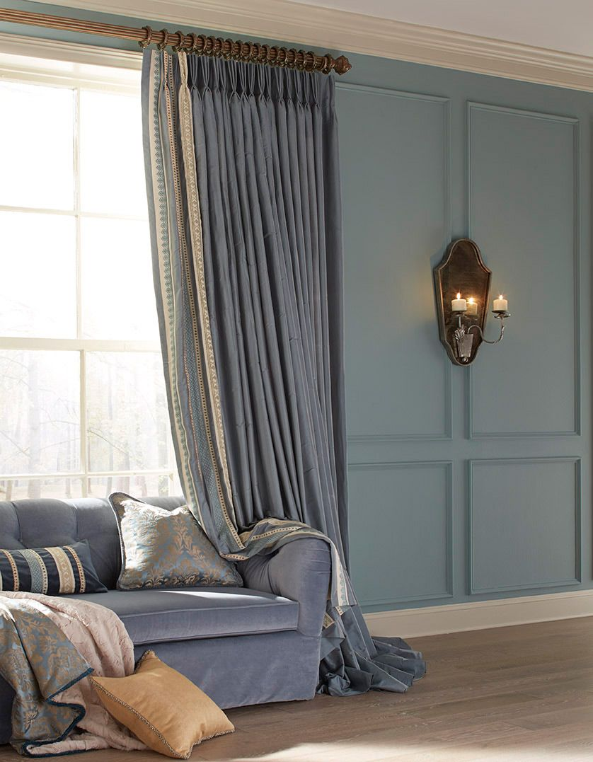 European window coverings  a highly ornate collection with exquisite detailing and handpainted