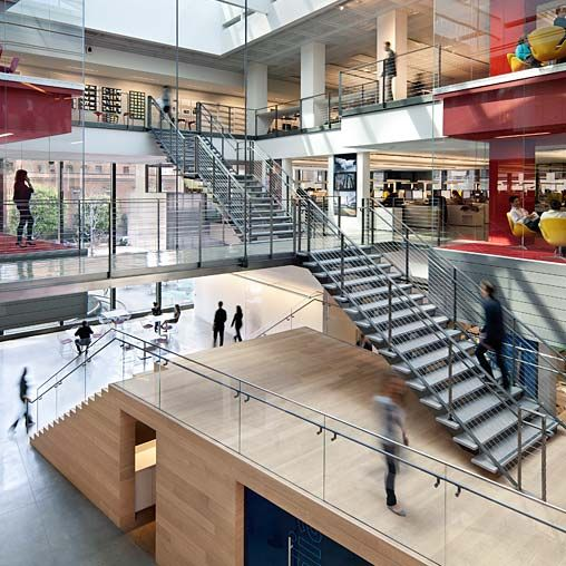 Moving from santa monica to downtown los angeles gensler for Innovation firm los angeles
