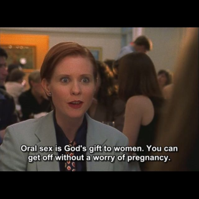Sex and the city season one quotes