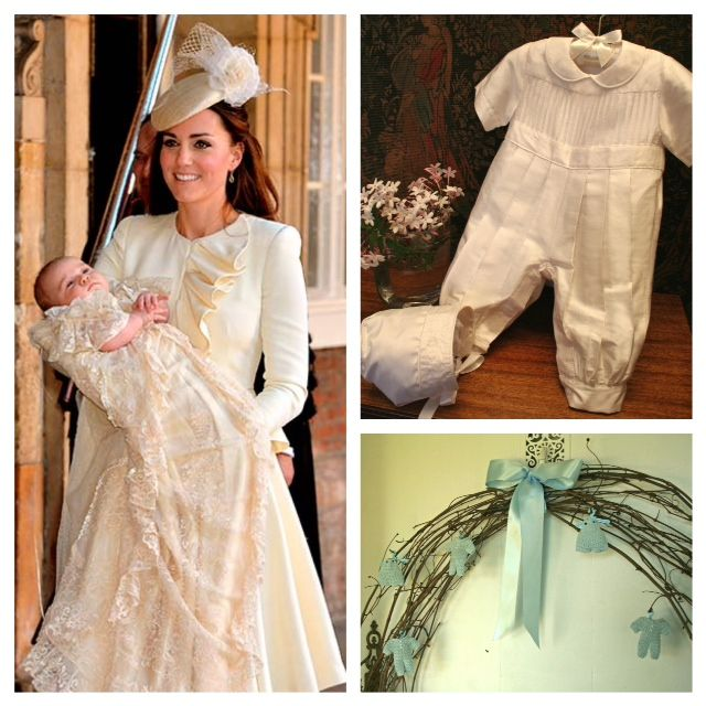 For some dads even the most beautiful gown is too much for a boy. It's what I have heard many, many moms say. Isabel Garretón Christening Collection.