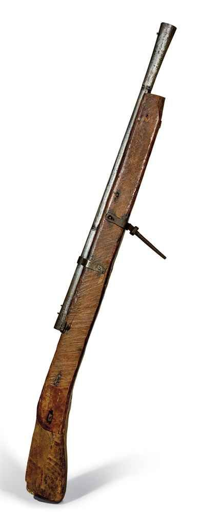 Couleuvrine de rempart. Wall gun. On auction at Christies.