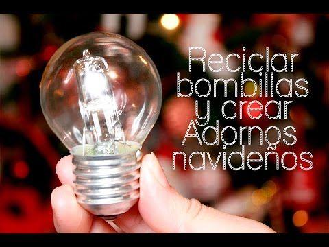 Porta velas con botellas de coca cola decoraciones navide as christmas decorations youtube - Decoraciones de navidad manualidades ...