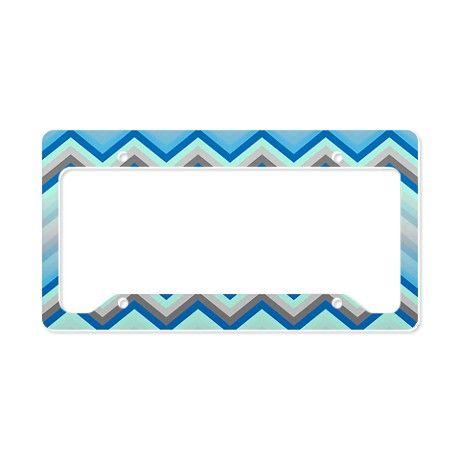Zig Zag Chevron Pattern License Plate Holder! #Cafepress #Zig #Zag #Chevron #Pattern #License #Plate #Holder #zigzag http://www.cafepress.com/+zig_zag_chevron_pattern_license_plate_holder,1109773107