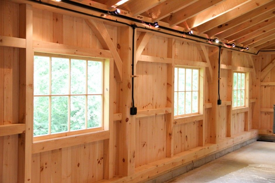 Authentic Post & Beam with 6x8 Timber Sill and Oversized