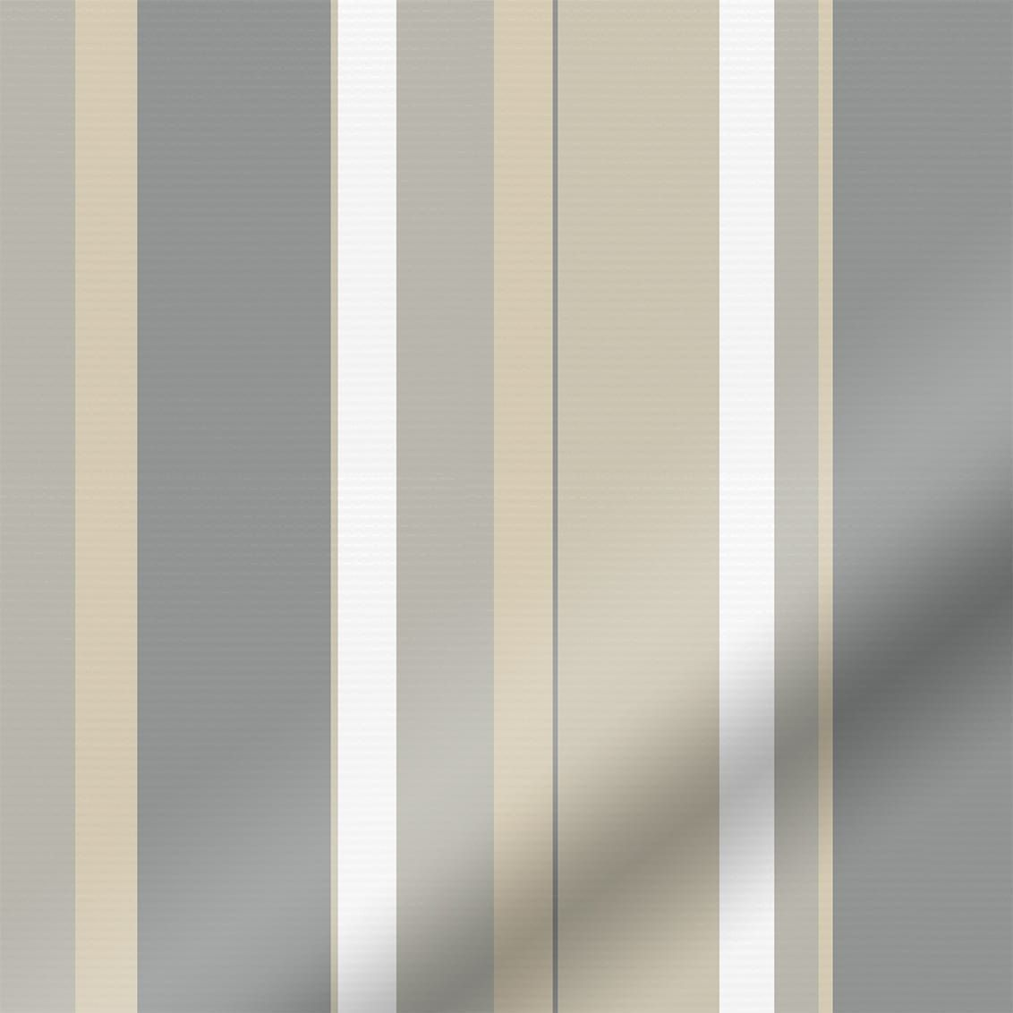 Splash hampton stripe naturale roller blind livingroomblinds