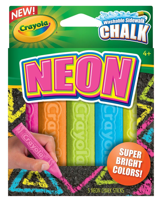 special effects sidewalk chalk neon