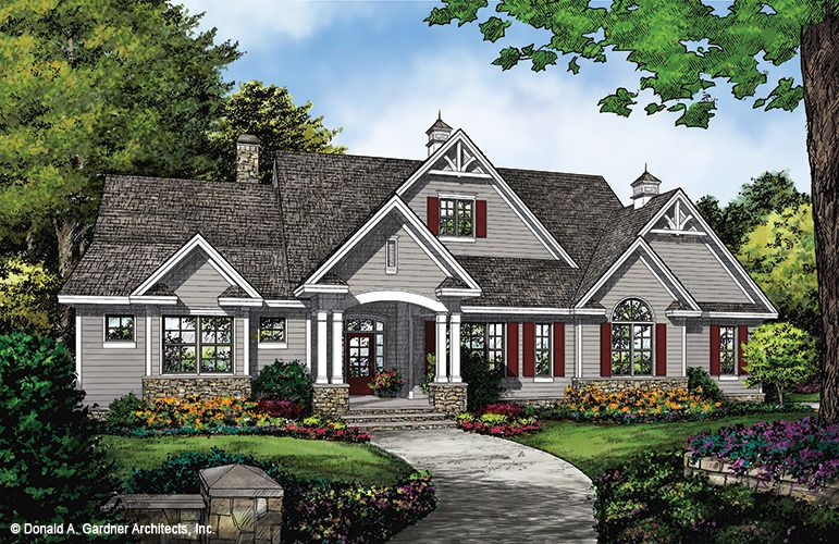 Now Available The Hendricks 1370 This Ranch Design Offers