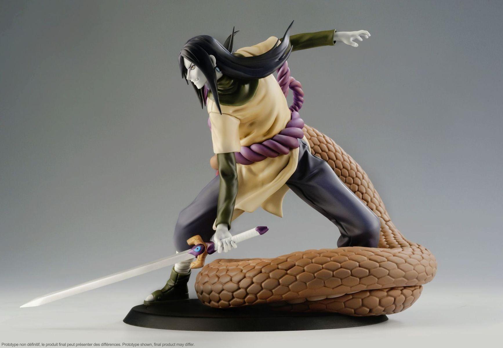 Naruto shippuden orochimaru dxtra 110 scale pvc anime
