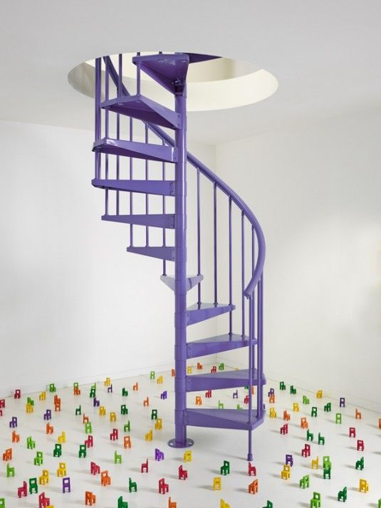 Best Fontanot Clip Spiral Stairs Scale Chiocciola E Scale 400 x 300