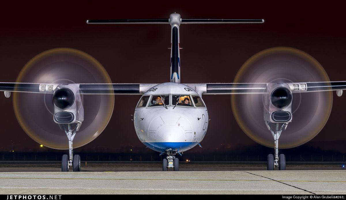 Croatia Airlines Bombardier Dash 8 Q402 Croatia Croatia Airlines Aircraft Pictures Airlines