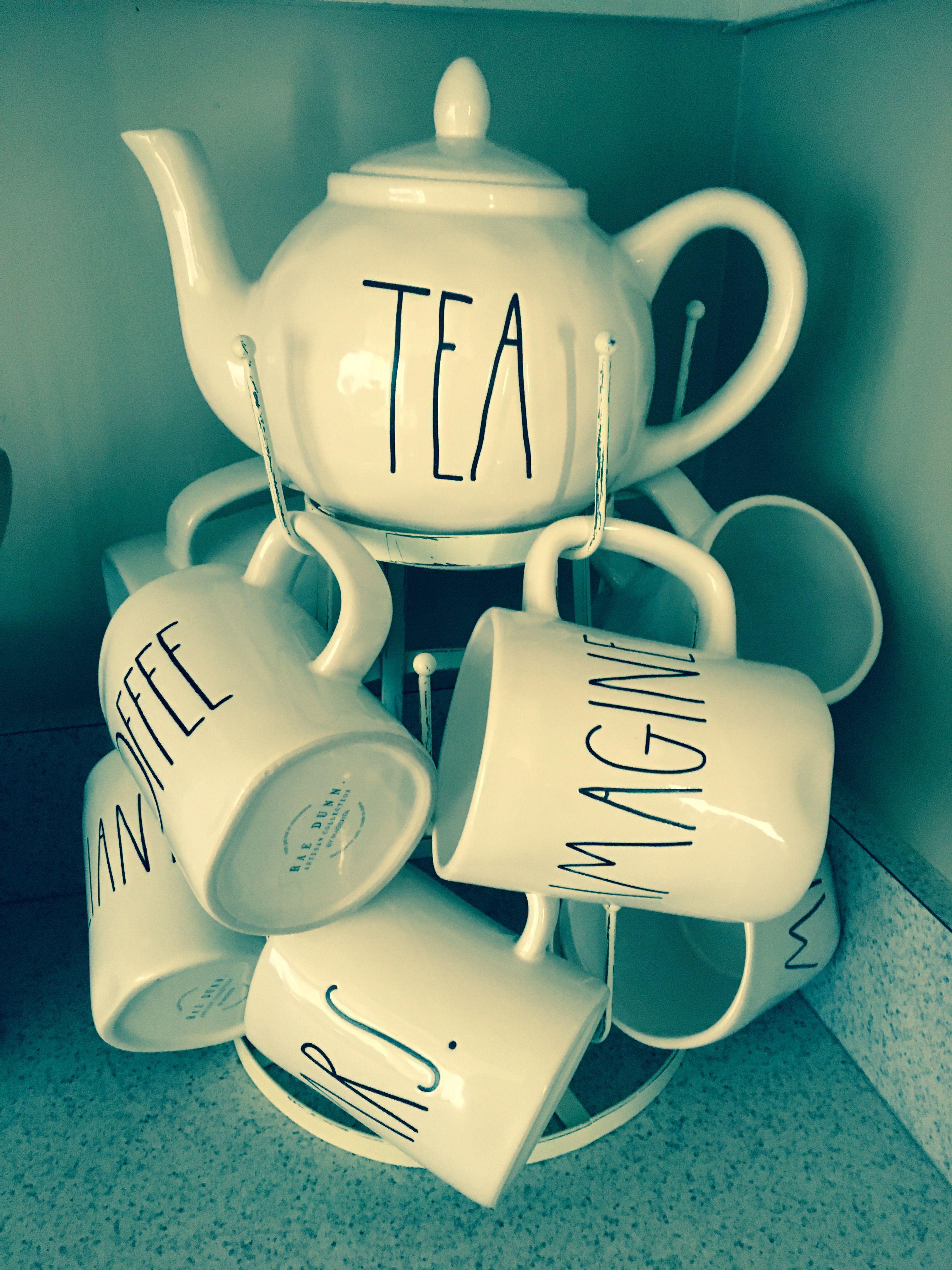 rae dunn mug display mug