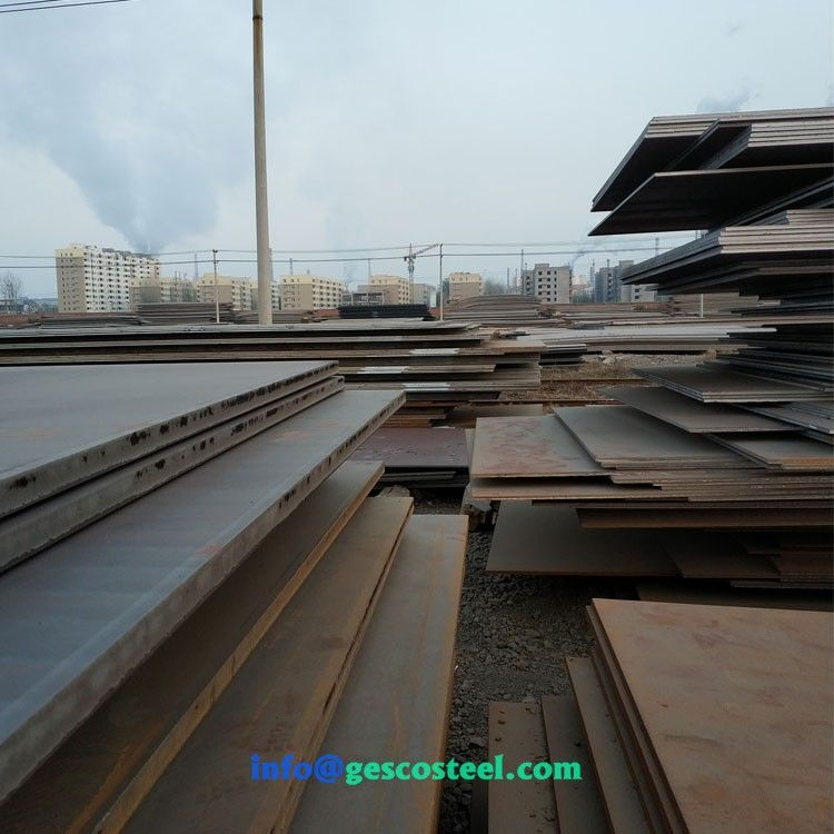 Aisi 1010 Hot Rolled Steel Plate S235jr S235jo Hot Rolled Steel Plates Corten Steel Bird Bath Steel