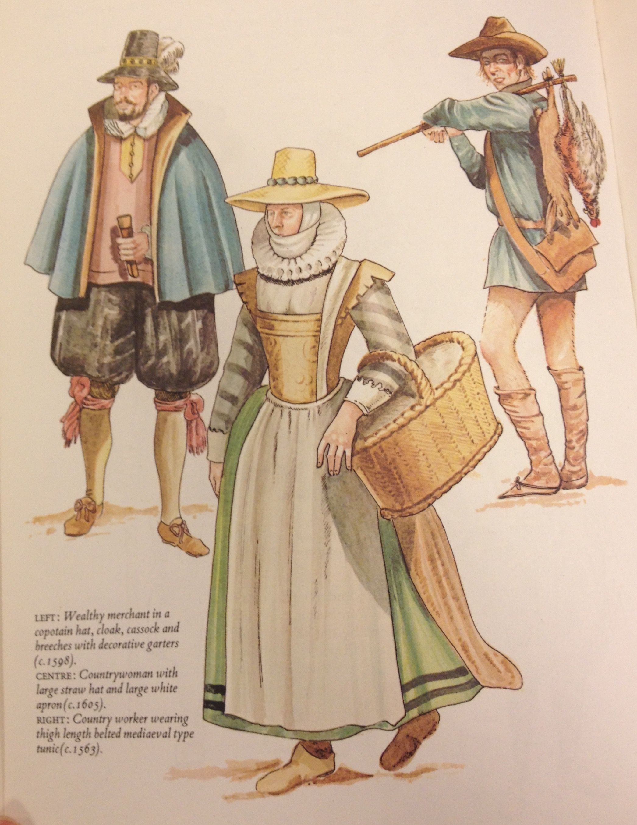 Middle And Lower Class Elizabethan Garb See Caption Garb Hip