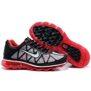 Mens Nike Air Max 2011 Black White Red Sneakers Nike Air Max Plus 4b5aef72a