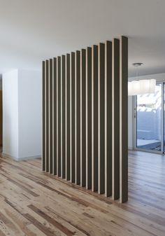 Love This Room Divider In A Home Done By Austin Architects Webber + Studio  Walls Like This On A Slight Angle In A Gridded Space?