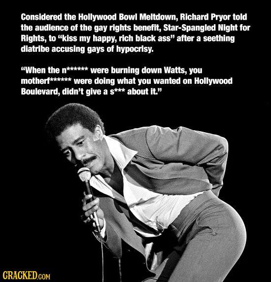Icons Whose Beliefs Now Seem Horrifying Richard Pryor Quotes Grunge Quotes Richard Pryor