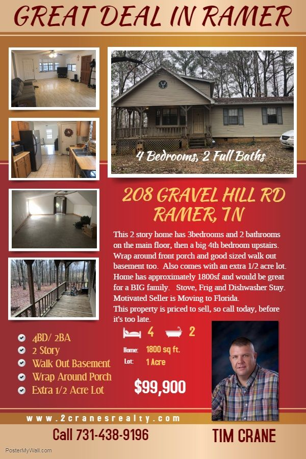 CHECK OUT ALL MY LISTINGS AT or call me at 7314389196 in