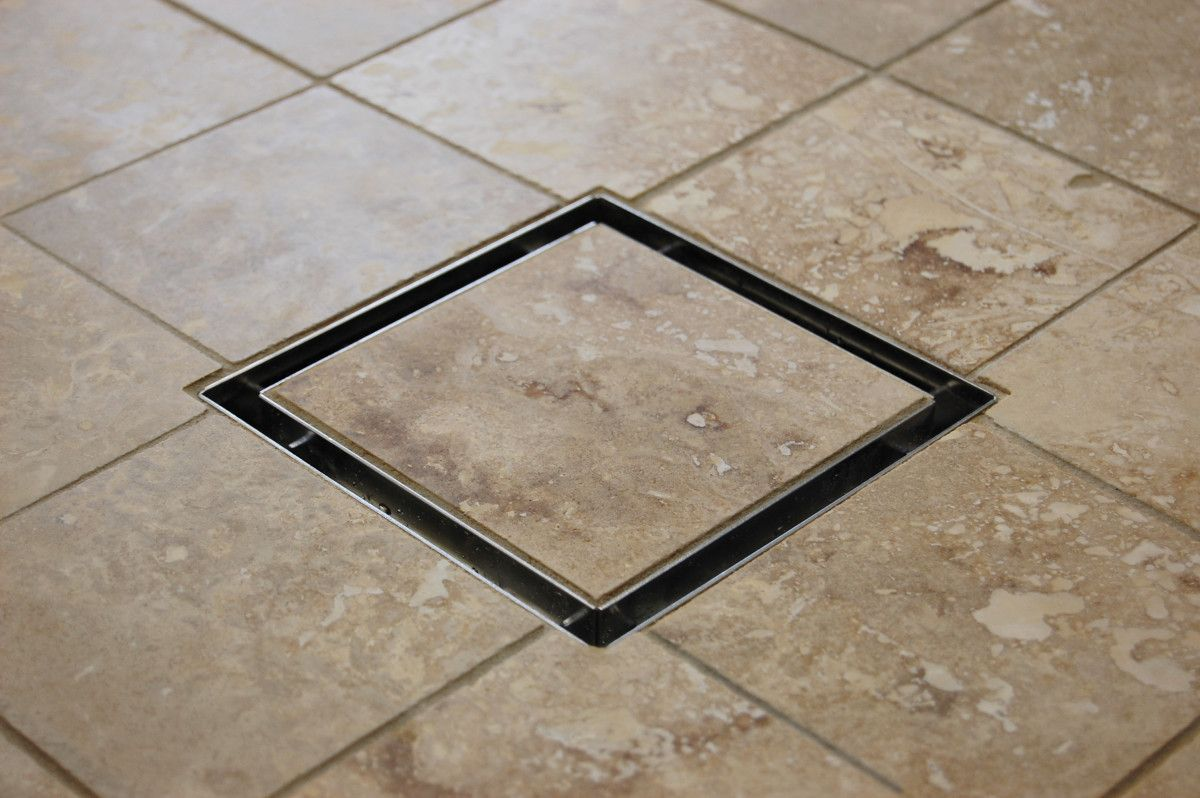 This Attractive Tile In Drain Is An Affordable Alternative To Linear Shower  Drains.