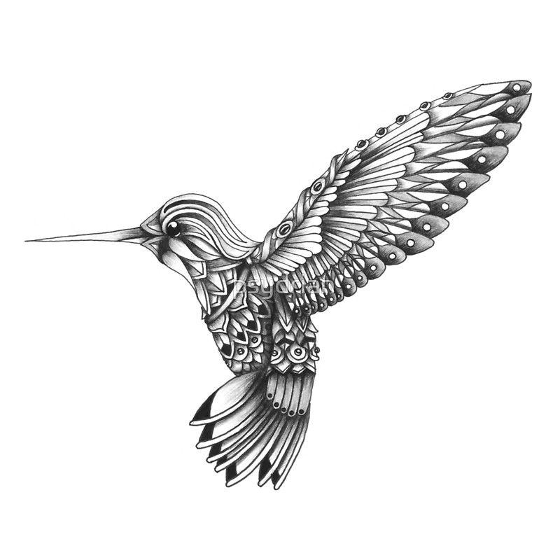 Bird Zentangle 29 Coloring