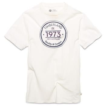Timberland - T-shirt SS Dunstan River Brand Homme - Coupe Slim