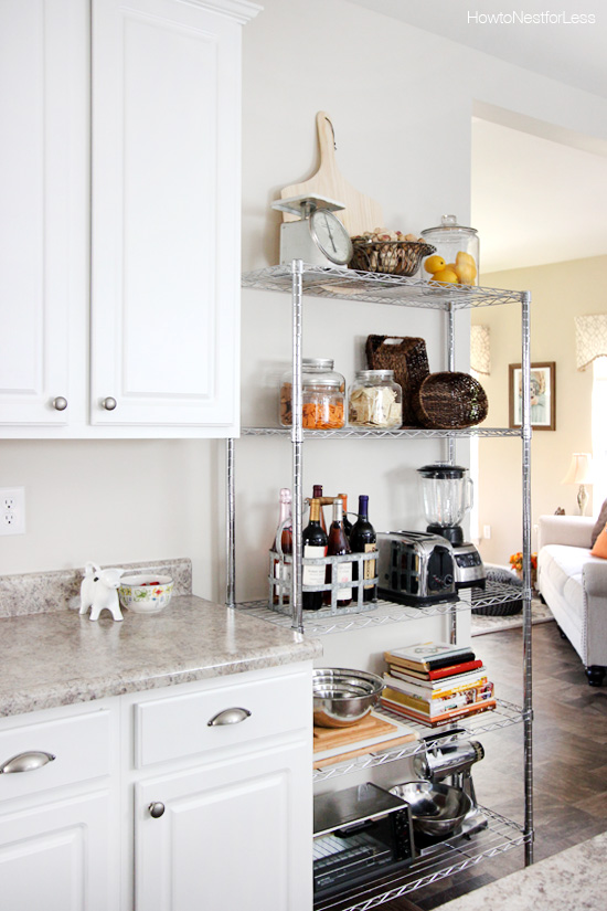 Kitchen Industrial Shelving - How to Nest for Less™