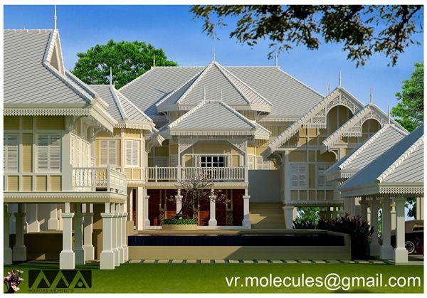 Vr molecule 41 colonial for Traditionelles thai haus