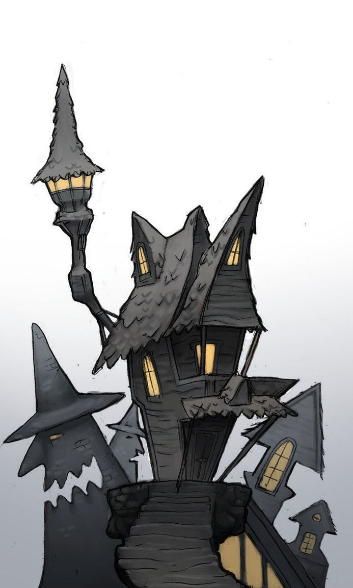 Nightmare Before Christmas Halloween Town Silhouette 93534 | MOVIEWEB