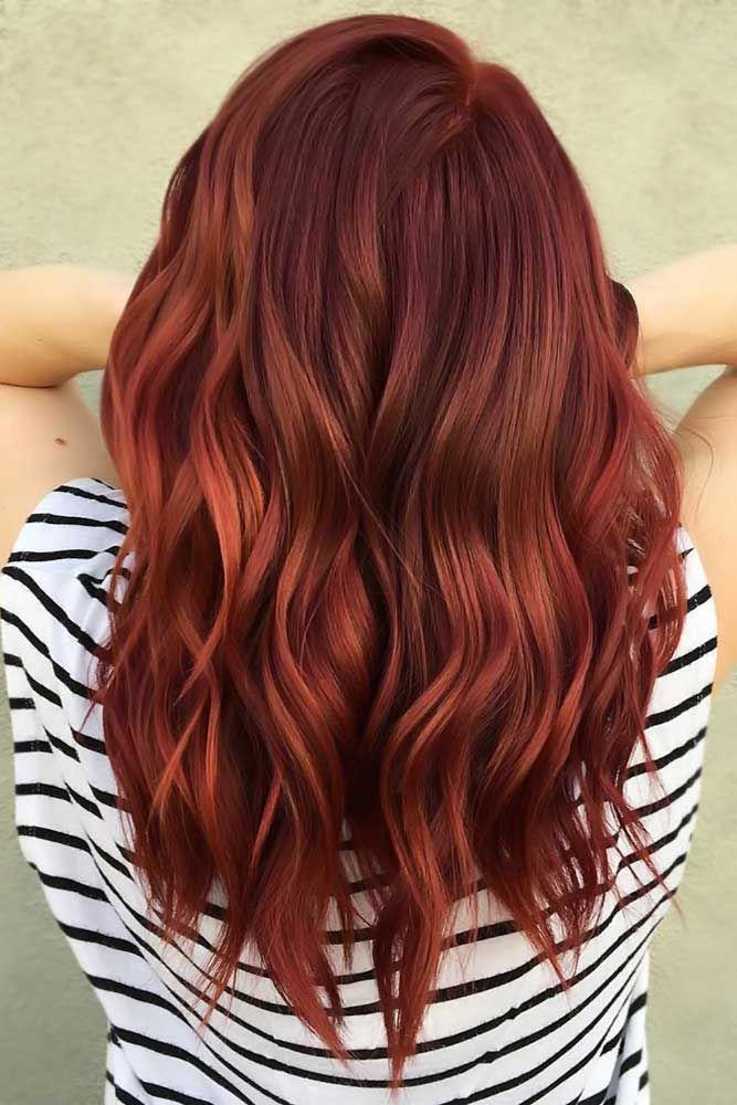 Photo of 50 couleurs de cheveux rouges pour différents tons de peau   LoveHairStyles.com