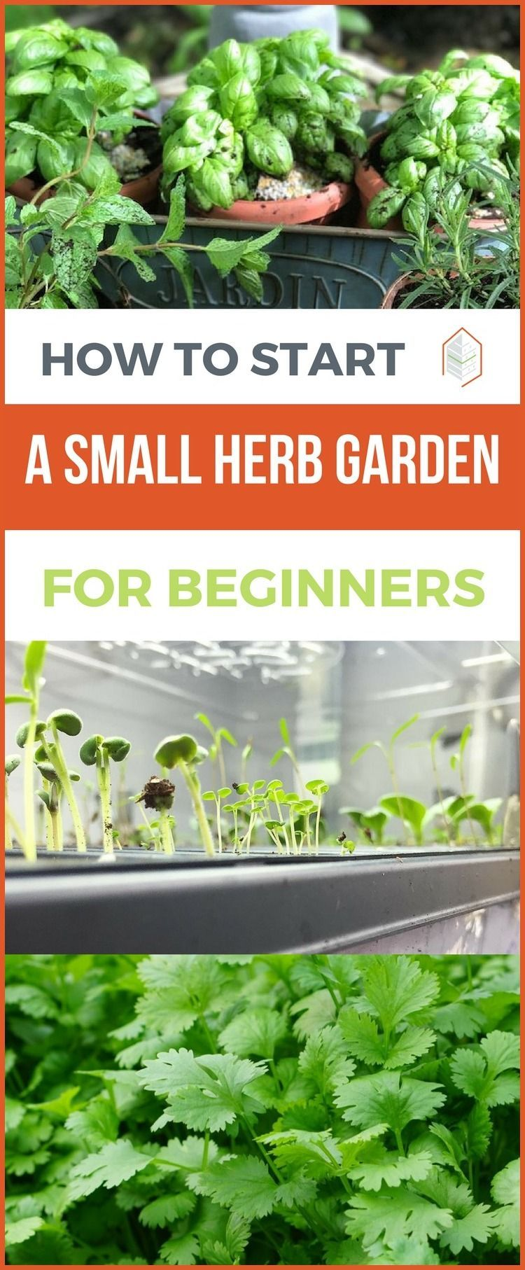 How to Start a Small Herb Garden and Be Successful is part of Small herb gardens, Indoor vegetable gardening, Gardening for beginners, Vegetable garden for beginners, Indoor herb garden, Vertical herb garden - Our 4 steps guide How to start a small herb garden If you want to know how to start a small herb garden, then