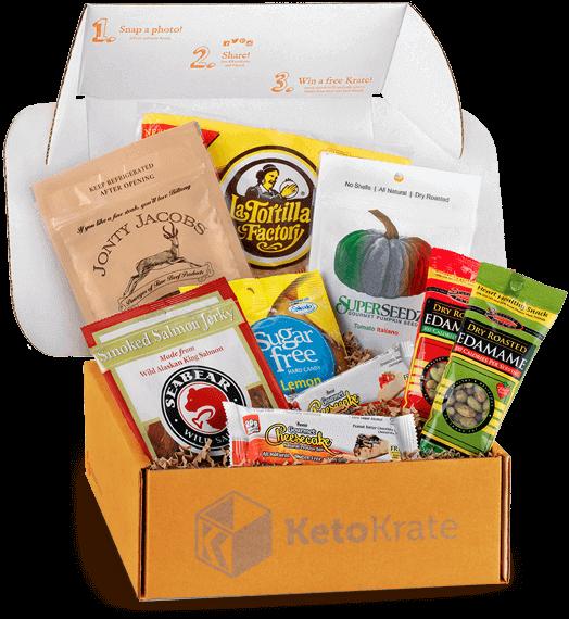 A subscription box for Keto diet'ers. Keto snacks