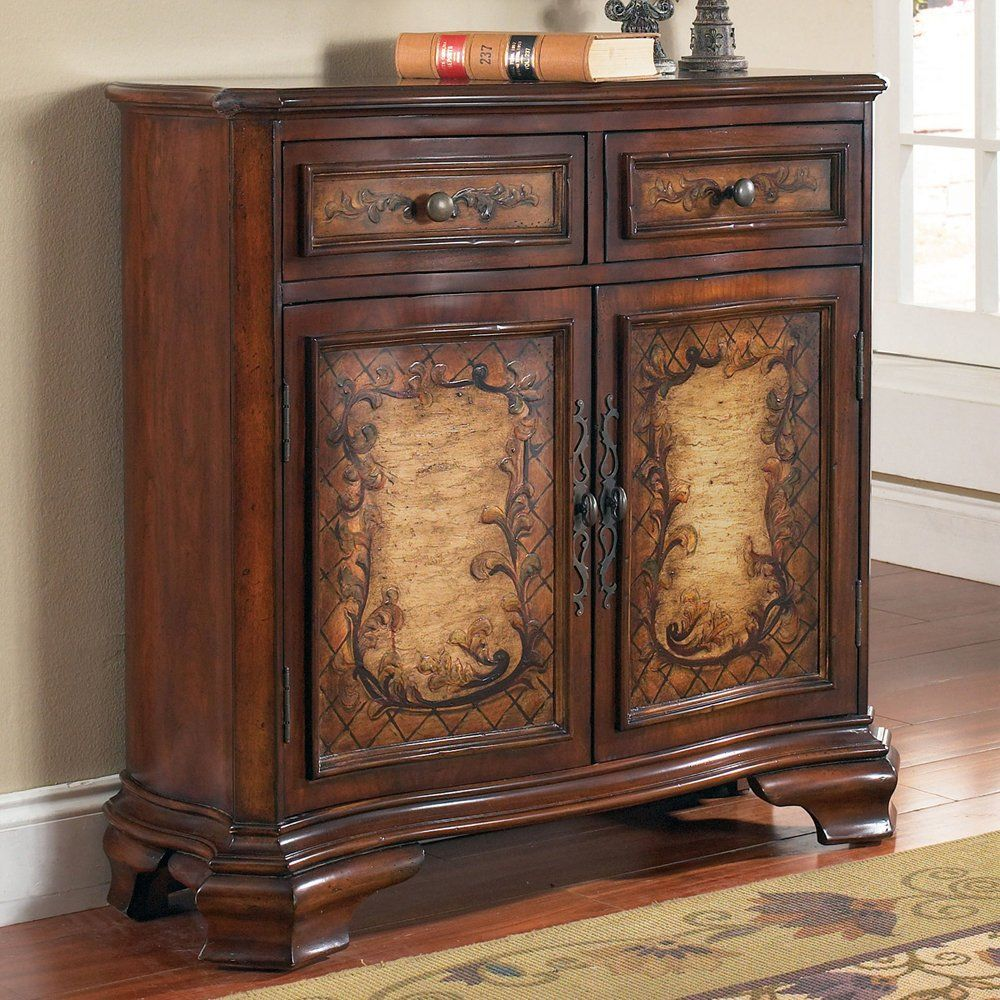 Foyer Storage Furniture : Pulaski furniture hall chest decorative storage