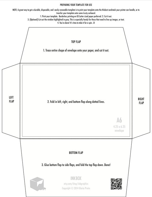 FREE Printable 425 X 625 Envelope Template Design On Behance
