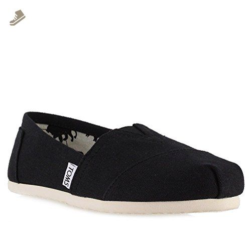 1256855dcfd Toms Womens Classics Black Canvas 001001B07-BLK Womens 10 - Toms sneakers  for women ( Amazon Partner-Link)