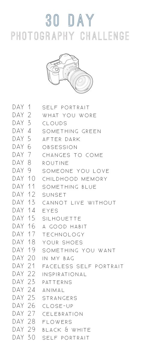 Photo of 30 Day Photography Challenge