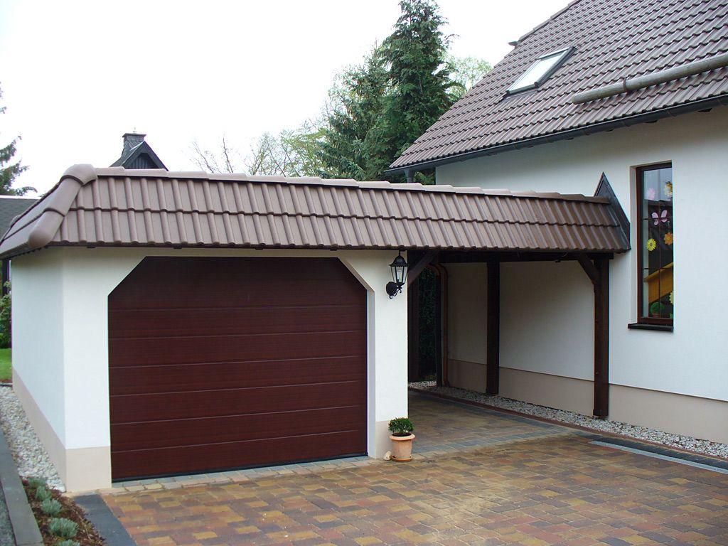 garage carport kombination garage pinterest haus. Black Bedroom Furniture Sets. Home Design Ideas