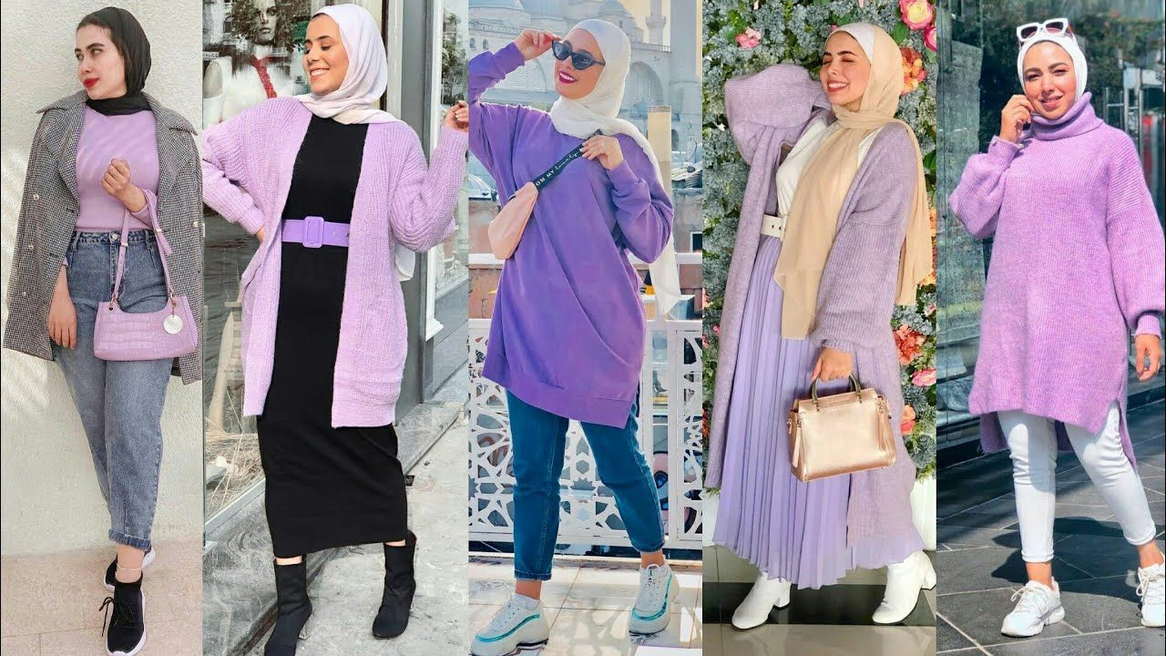 Pin By يوميات بنات On Winter Fashion Outfits Hijab 2021 Winter Fashion Outfits Hijab Fashion Fashion