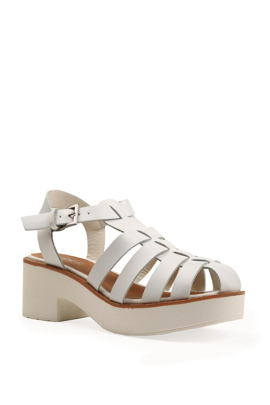 White sandals rubi shoes - 40 Trends To Try Before You Turn 40 Platform Shoes