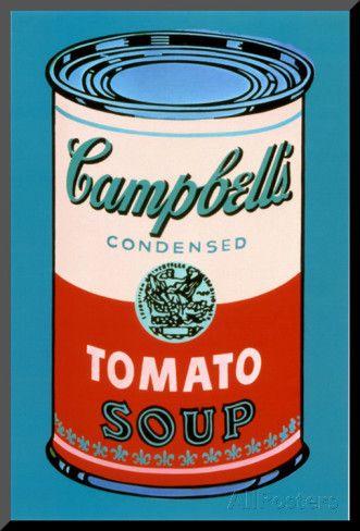 Andy Warhol Campbells Suppeboks 1965 Rosa Og Rod Jpg 331 488 Art Andy Warhol Andy Warhol Carte Du Monde Murale