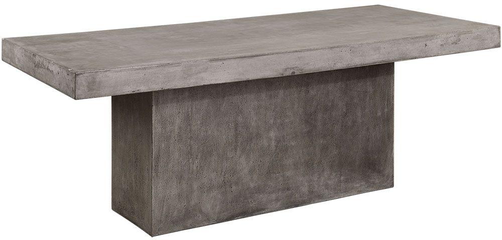 Köp Mesa Matbord Betong Grå Ø130cm | Bord | Confident Living
