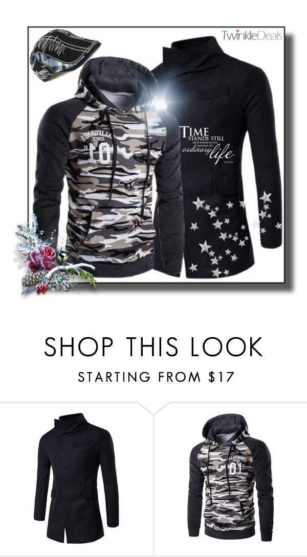 """""""1.Twinkledeals"""" by selmica11 ❤ liked on Polyvore featuring men's fashion, menswear, Winter, snow, promotion, manFashion and twinkledeals"""