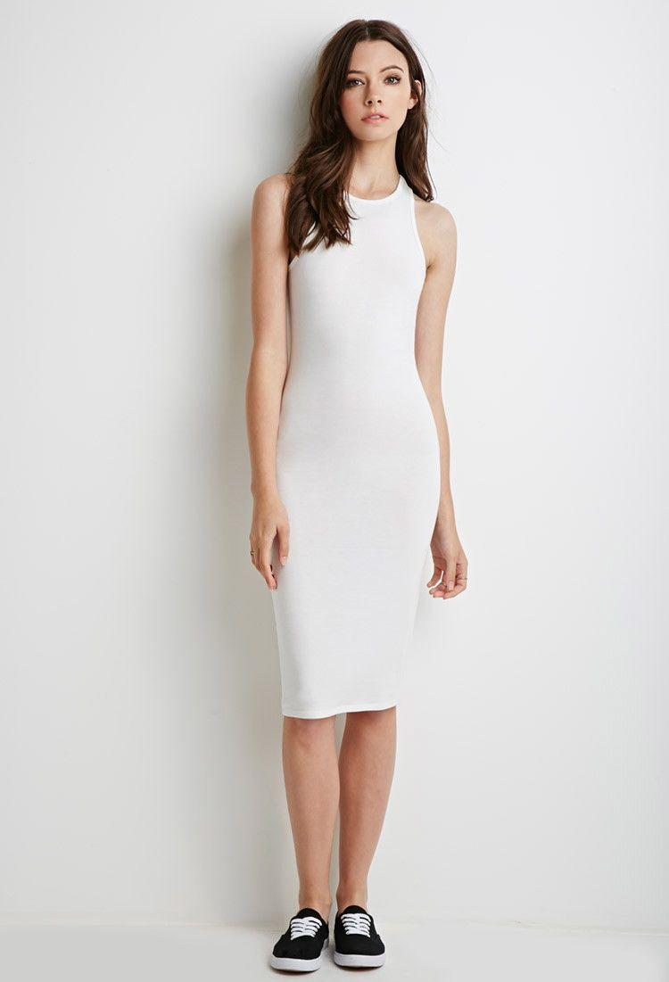 Leia Dress Option Racerback Midi Dress Forever 21 2000131946