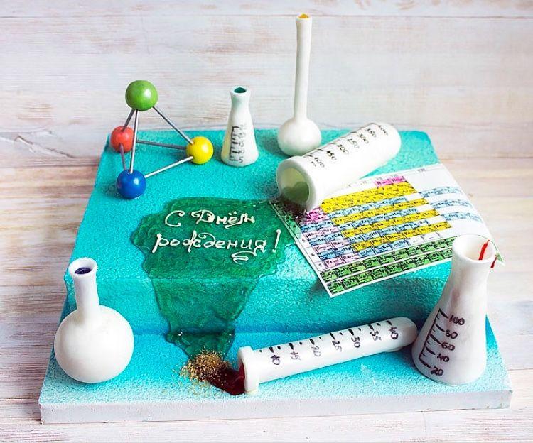 Картинка поздравление с днем рождения учителя химии, для