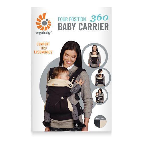 Ergobaby Four Position 360 Carrier Black Camel Ergobaby Babies
