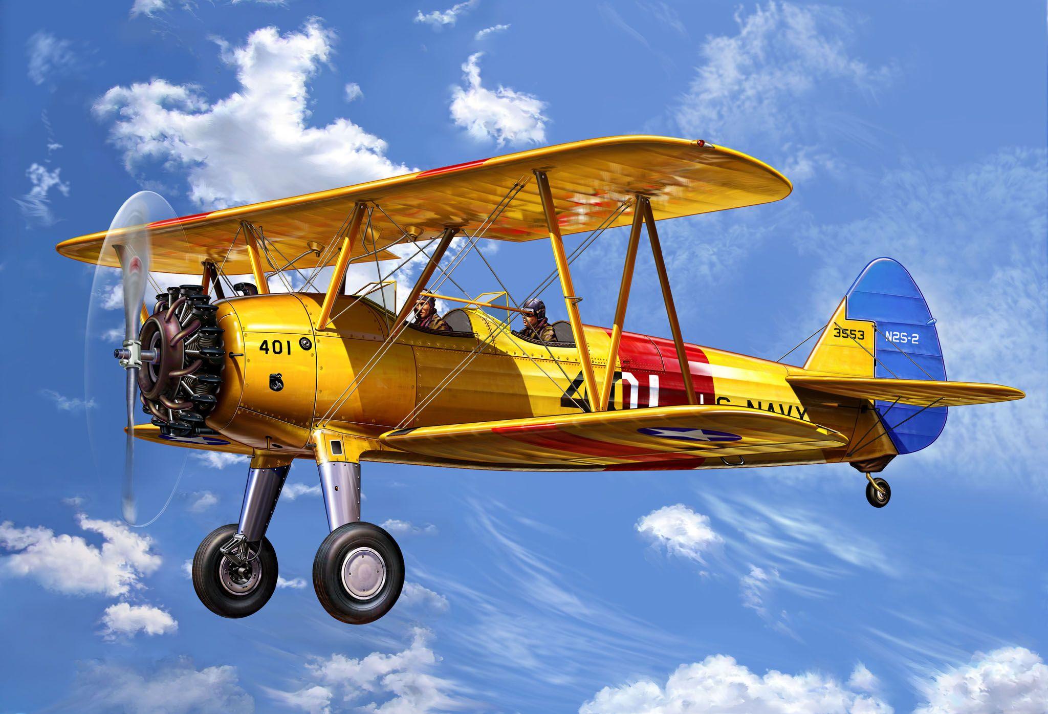 Biplane History Aircraft Model Airplanes Kit Biplane