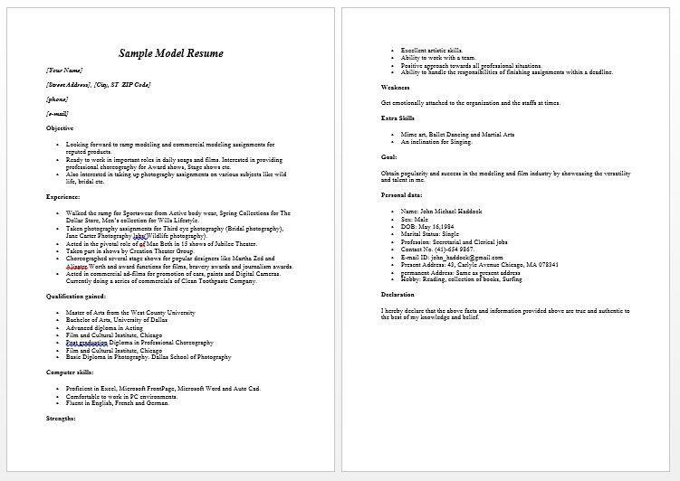 resumetipsobjective Job resume examples, Resume, Resume