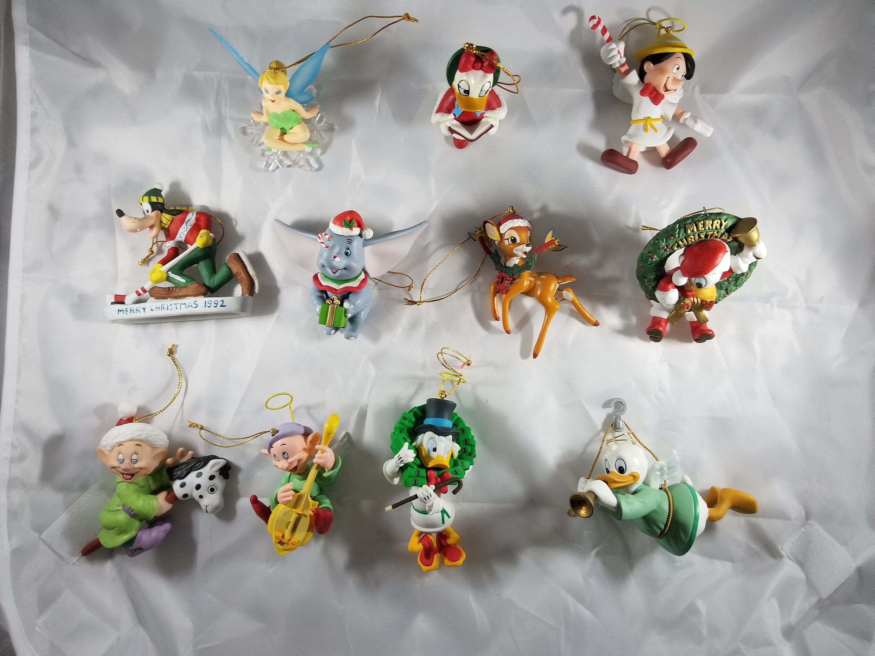 Eleven Vintage Disney Christmas Ornaments From The 90s By Jksarray On Etsy Christmas Ornaments Disney Christmas Disney Christmas Ornaments