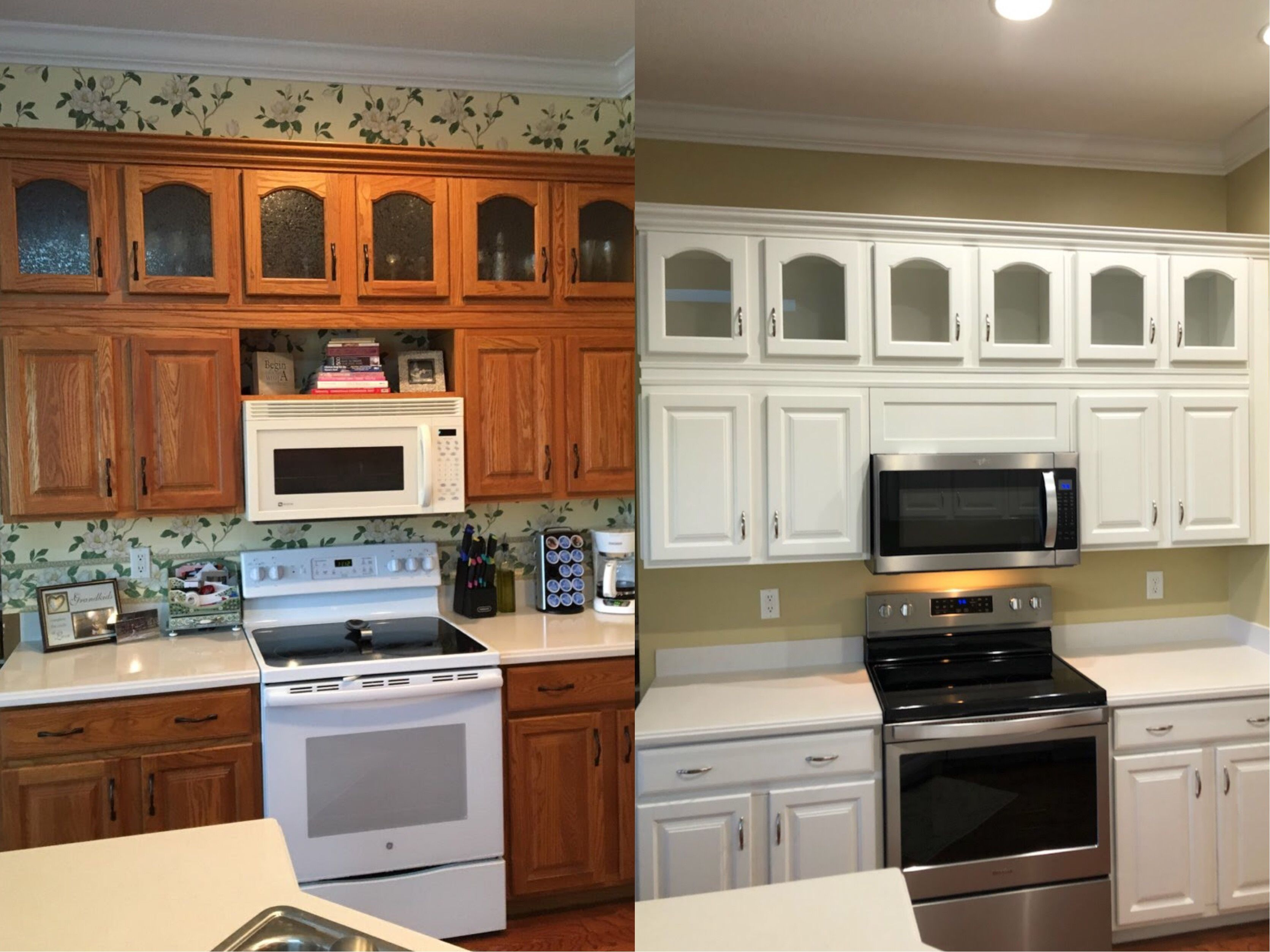 Paint Kitchen Cabinets Tampa / Premier Cabinet Painting ...