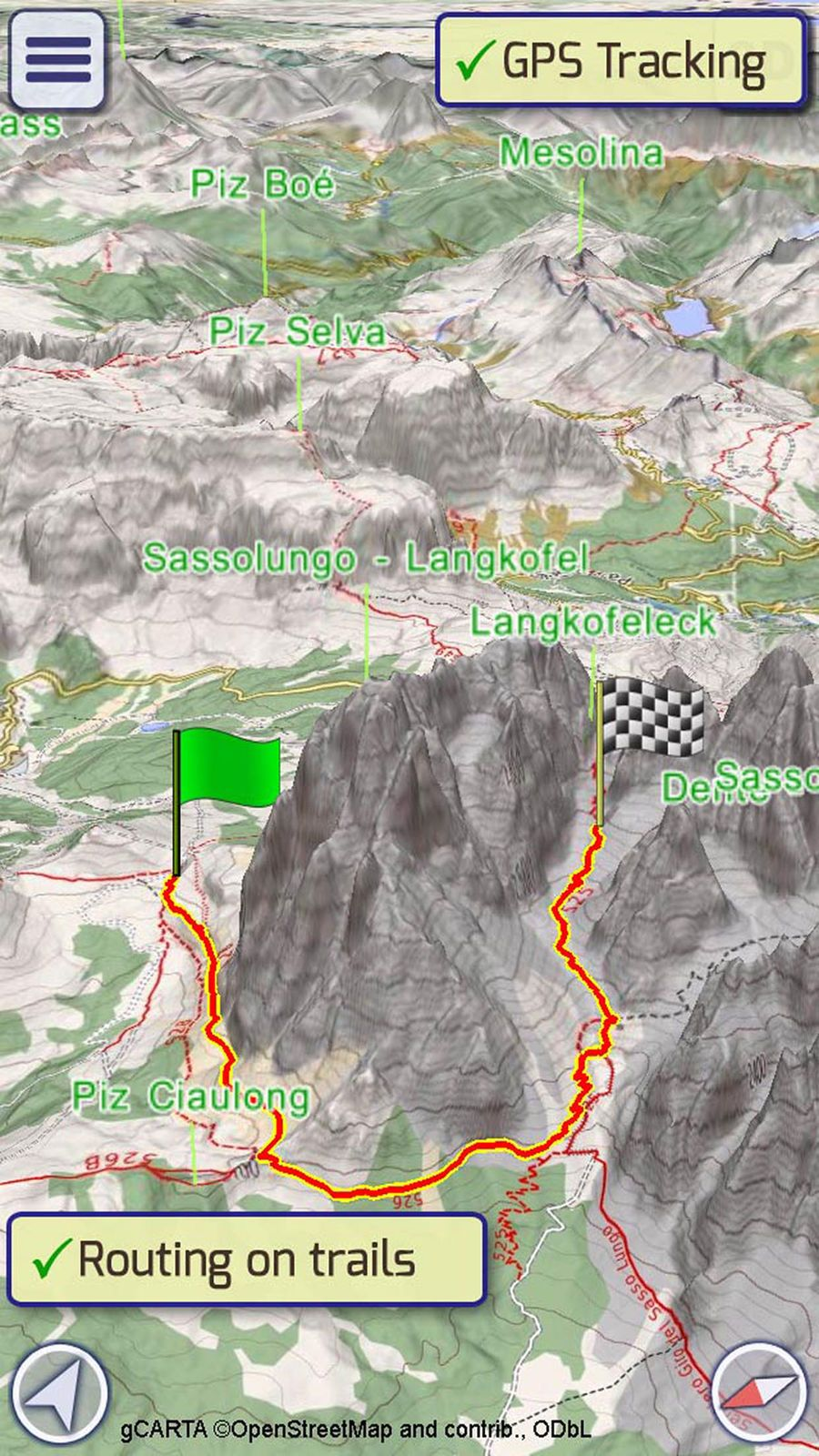 GeoFlyer Europe 3D Maps Lite #Navigation#GeoMind#apps#ios